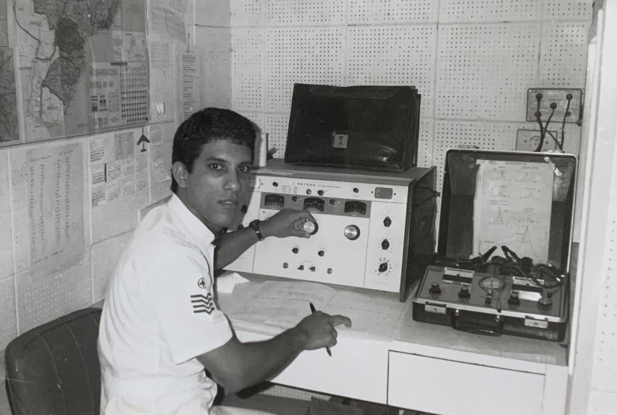 Farlley Jorge Derze, na FAB.